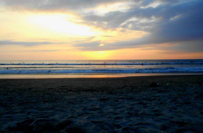 Montañita Beach