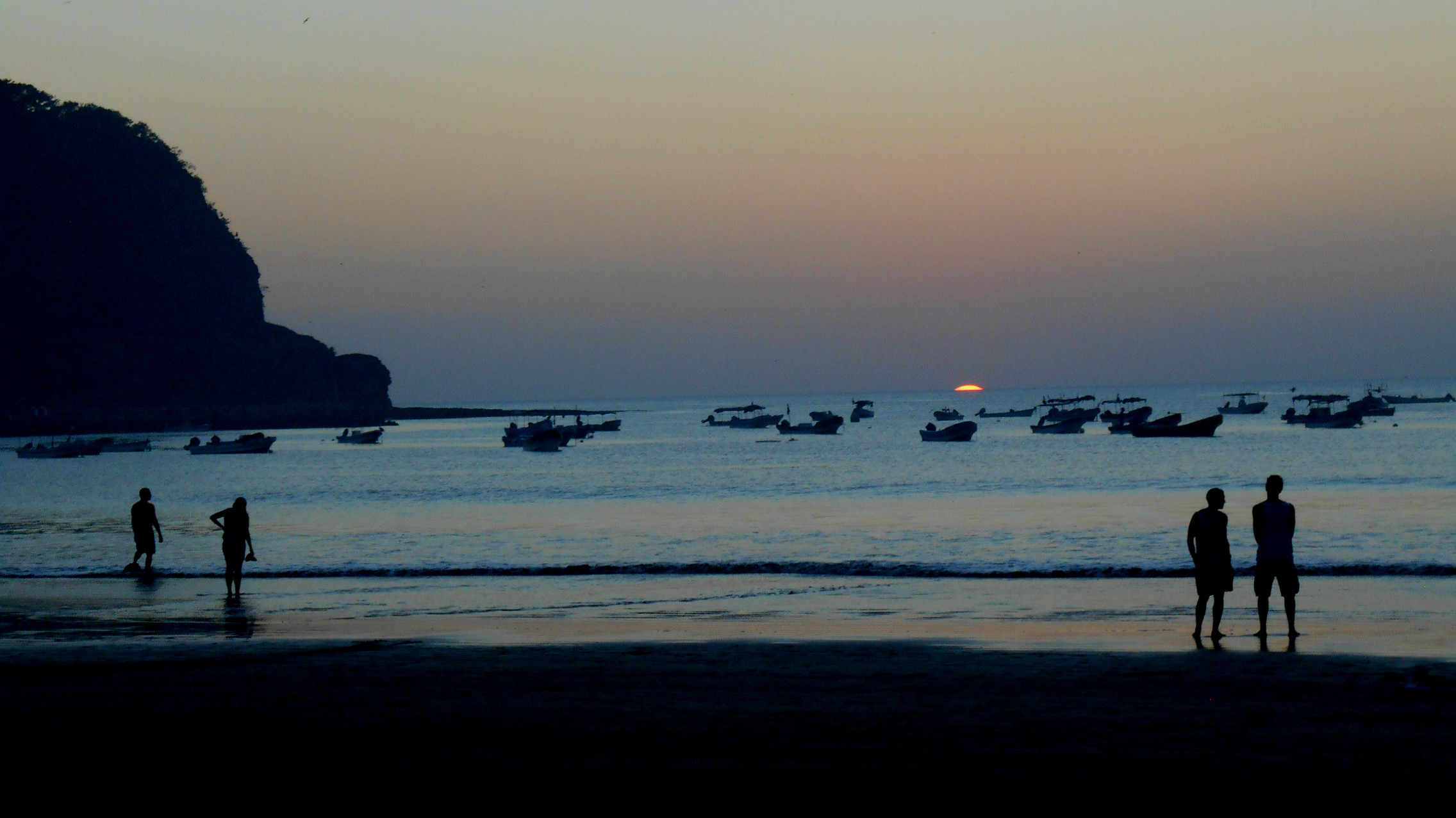 Sunset in San Juan del Sur