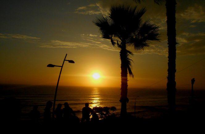 South America Sunset