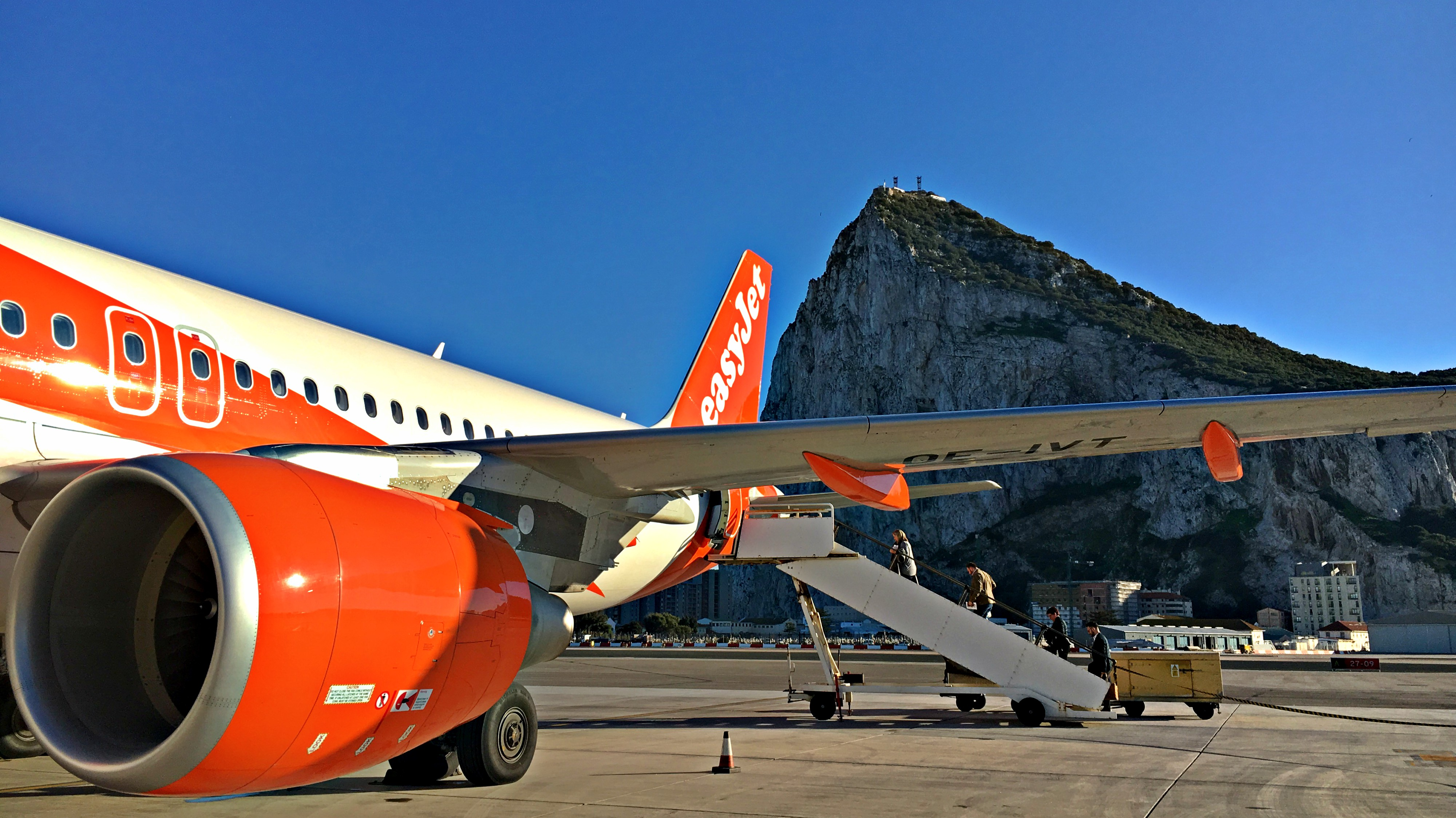 Spain to Gibraltar