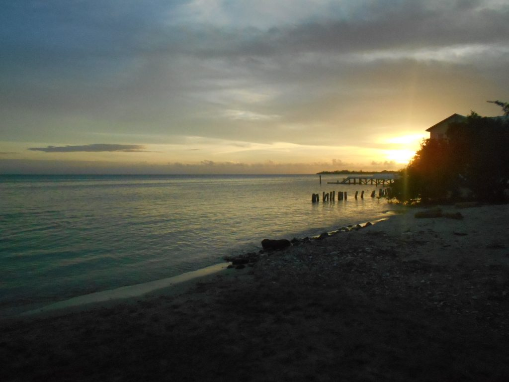 Sunset in Utila