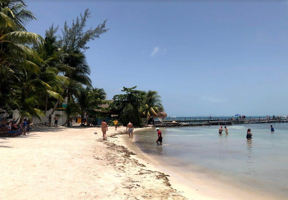 Mexcian beach