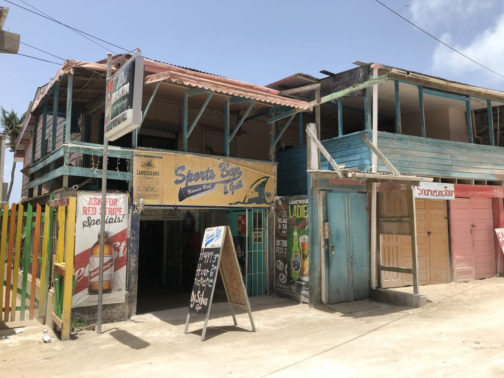 Sports Bar Caye Caulker