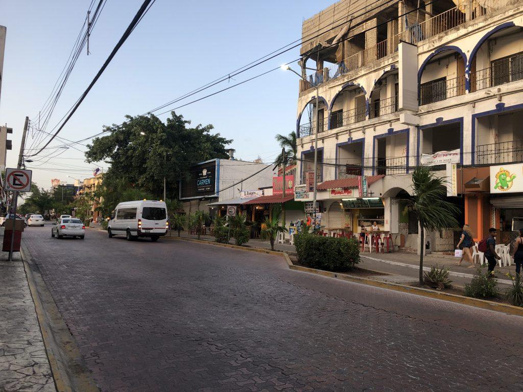 Playa del Carmen streets