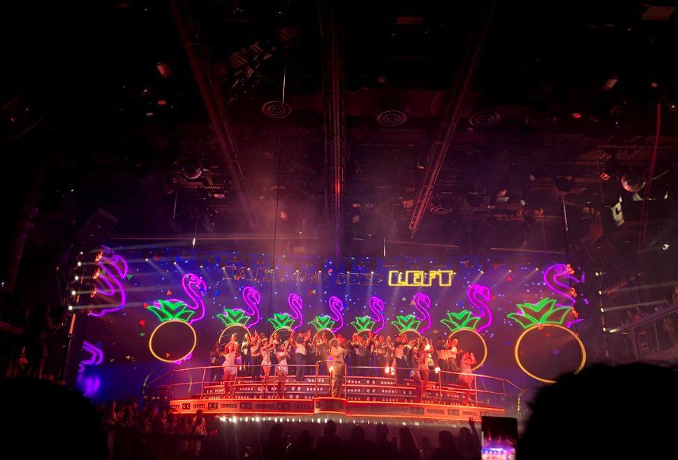 Coco Bongo show Cancun