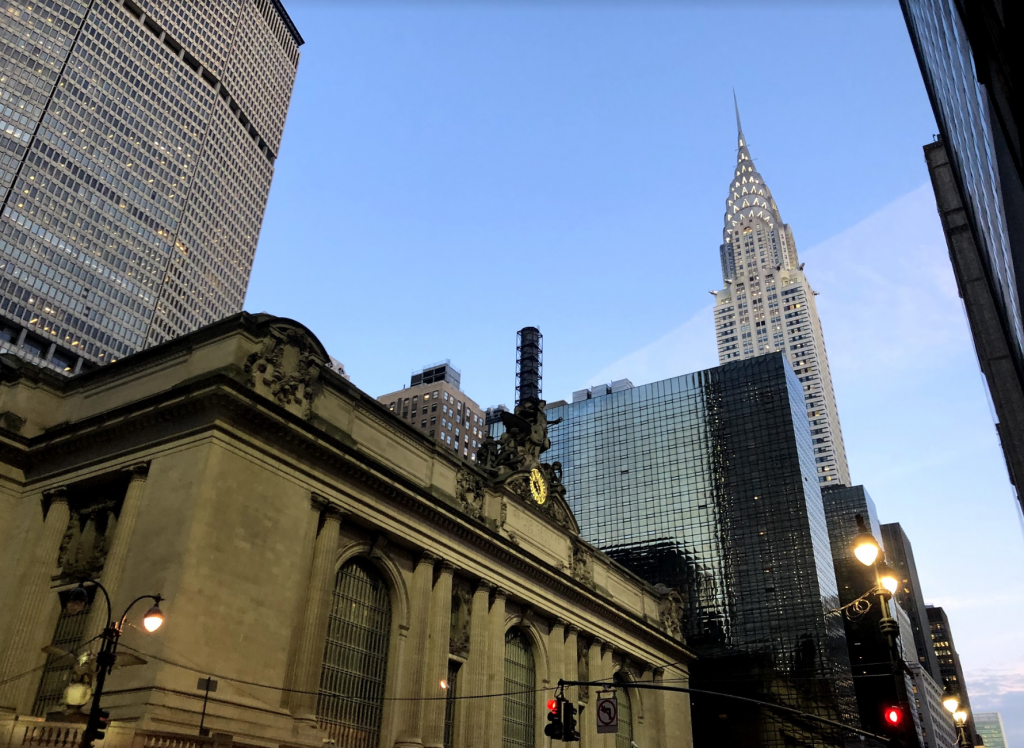 Chrysler Building and Grand Central