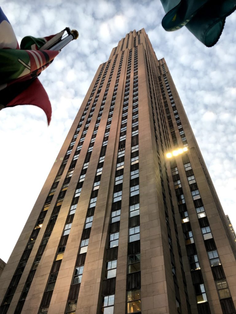 The Rockefeller Center in NYC