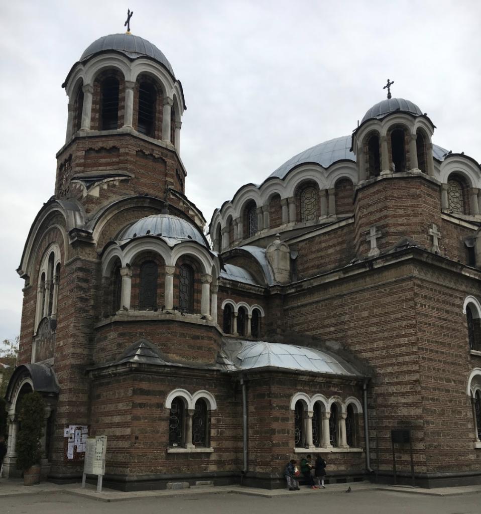 Seven Saints Church Sofia