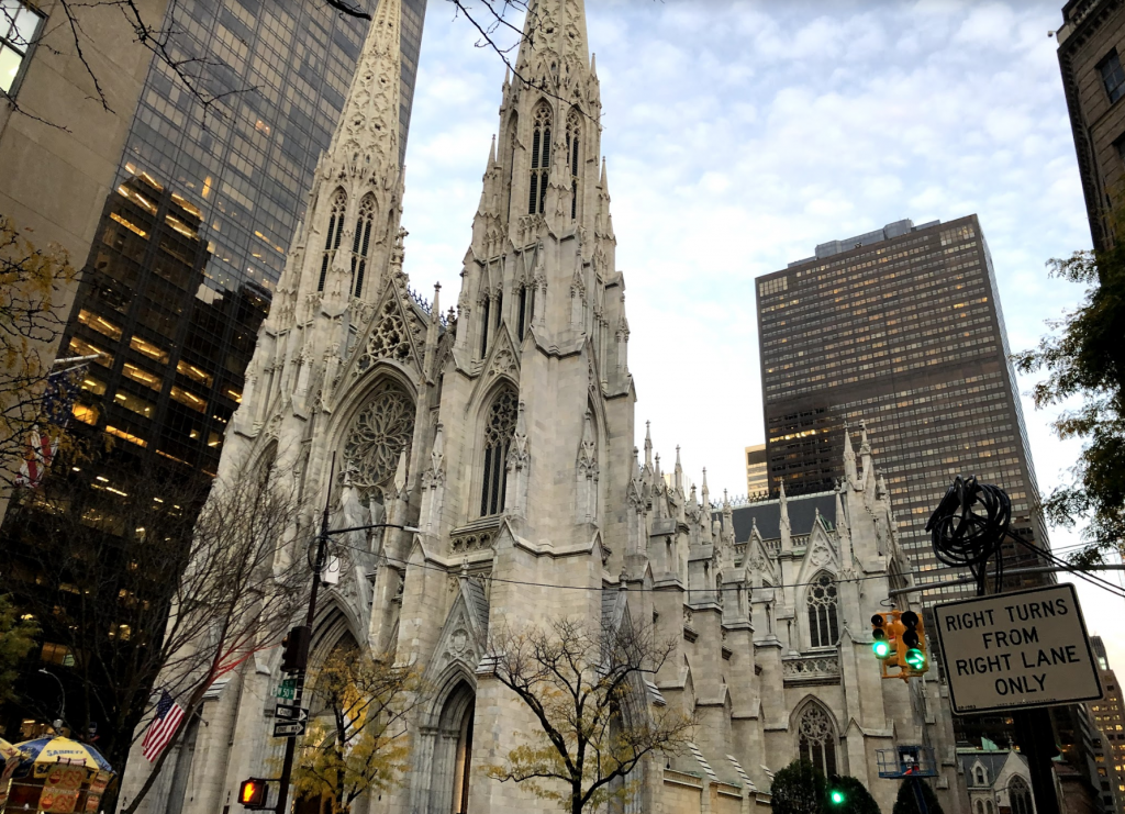 St. Patricks Cathedral in New York City