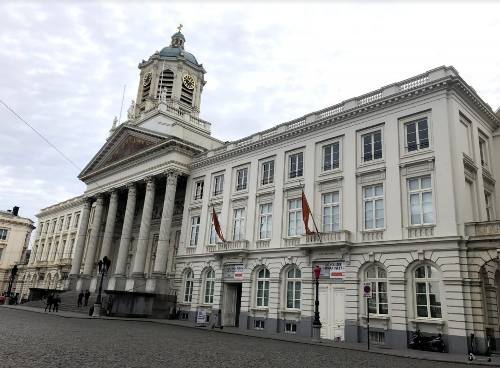 Coudenberg in Brussels