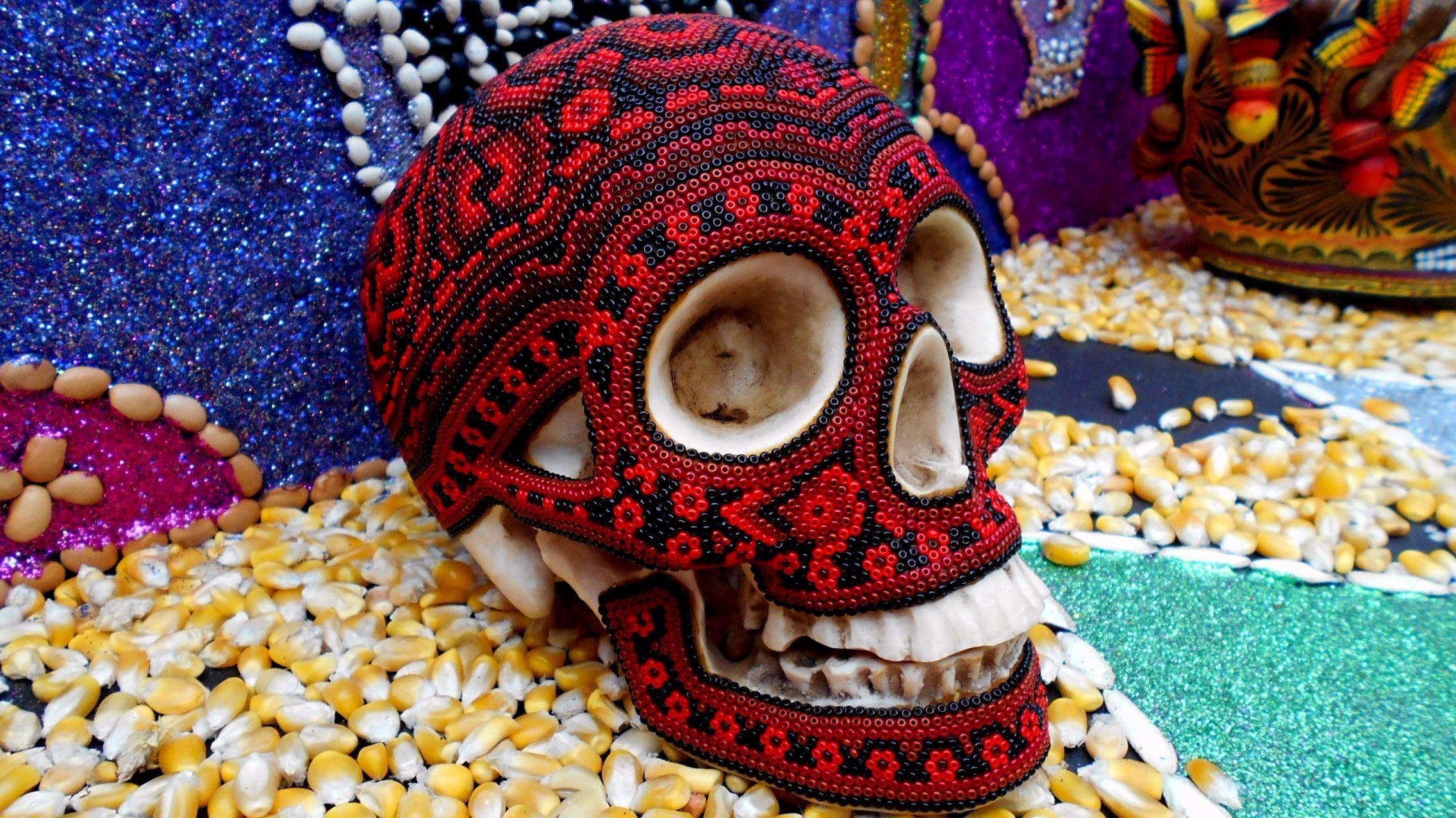 Day of the Dead Skull